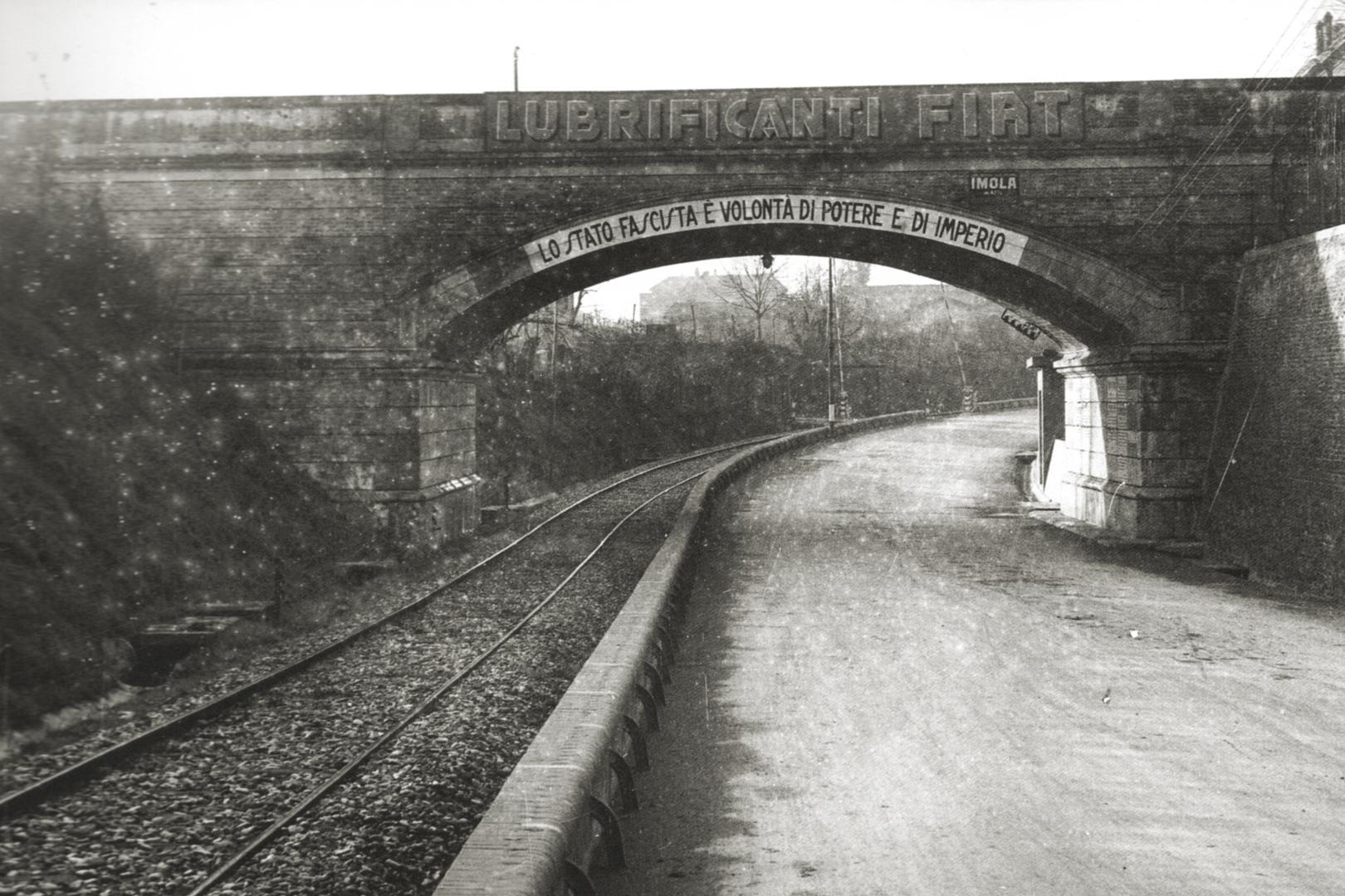 4. Imola, 1920-1930, via Selice ponte sulla ferrovia (Archivio Carlo Parenti)