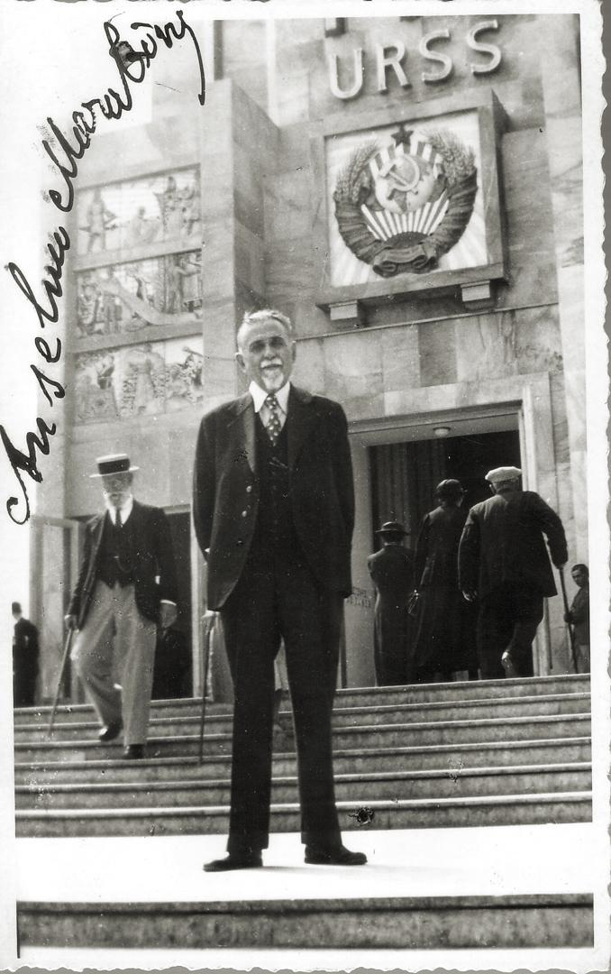 5. Mosca, 1944, Anselmo Marabini in esilio (Archivio Cidra)