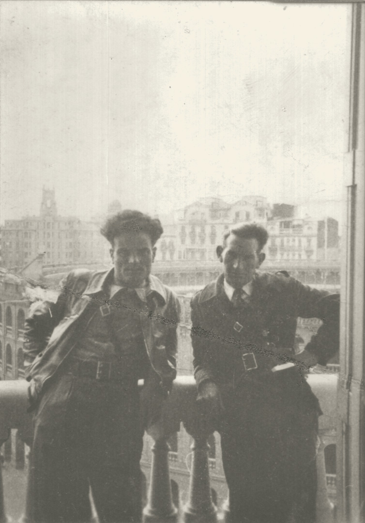 4. Roberto Gherardi a Madrid nelle Brigate Internazionali (Archivio Cidra)