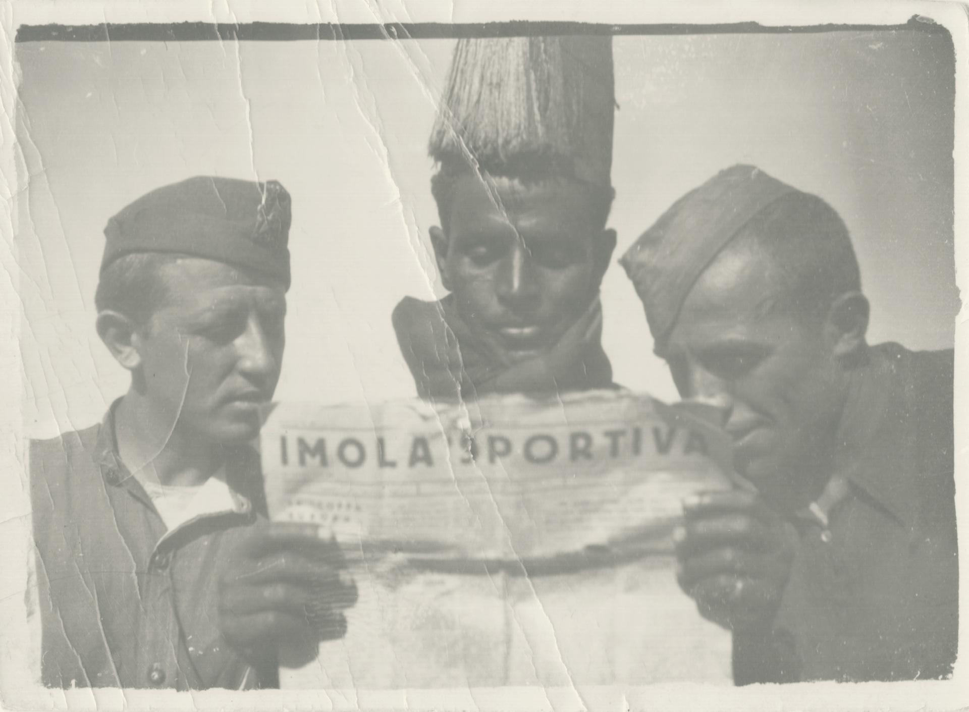 5. Etiopia, 1935-1936, soldati imolesi in Etiopia (Archivio Cidra)