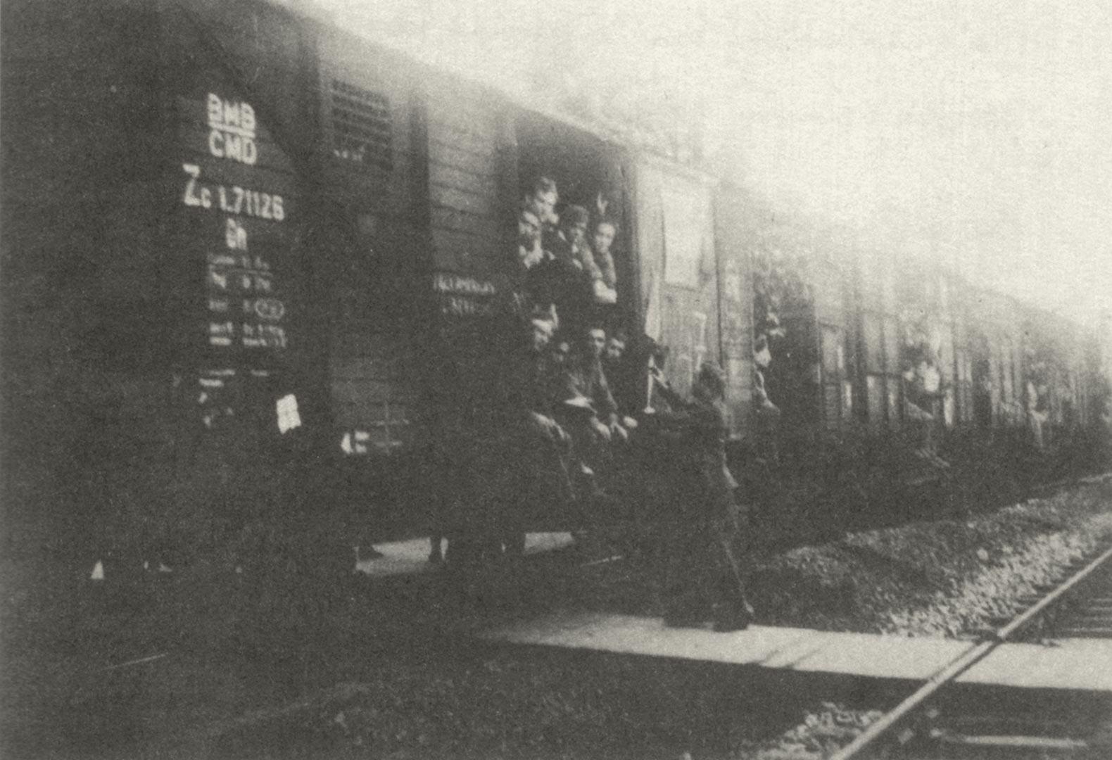 1. Treno con internati militari italiani (Archivio Marco Pelliconi)
