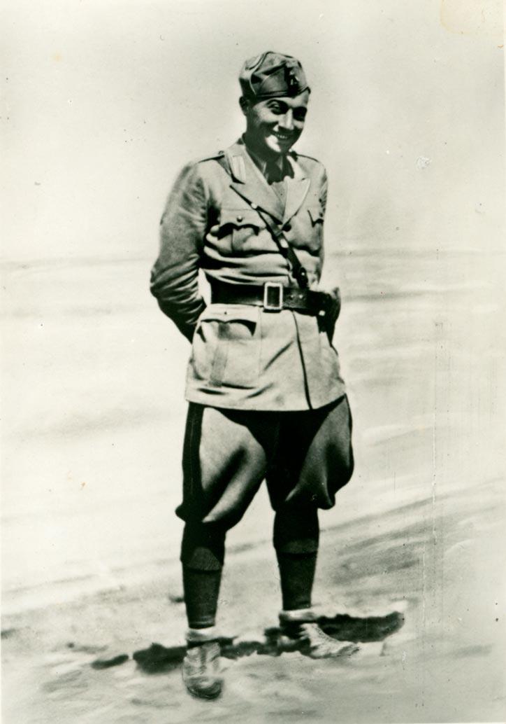 4. Il tenente Camillo Cacciari (Archivio Mario Cacciari)
